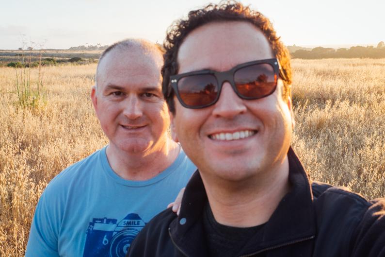 Gabe & Steve at More Mesa - Let's Photo Trip