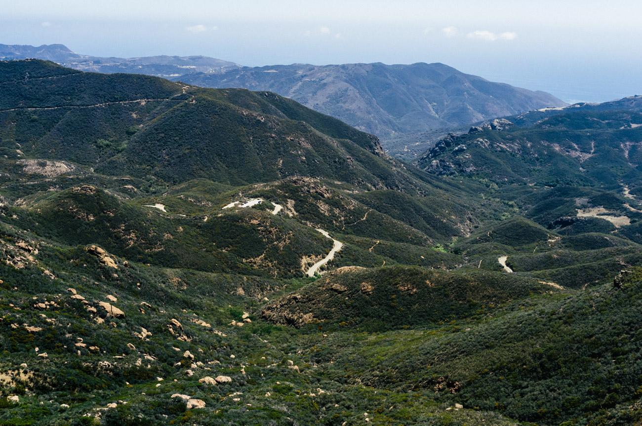 Looking South towards Malibu - Let's Photo Trip