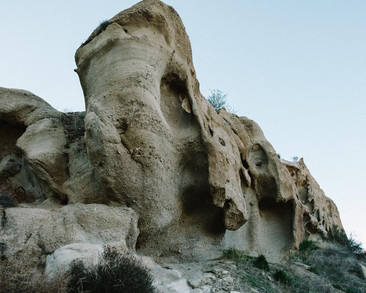 Fantasy-like caves dot Vasquez Rocks Park