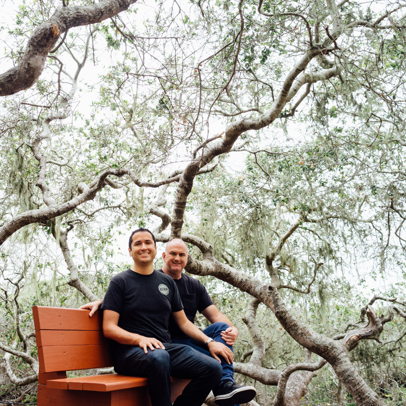 Gabe and Steve enjoying the Elfin Forest - Let's Photo Trip