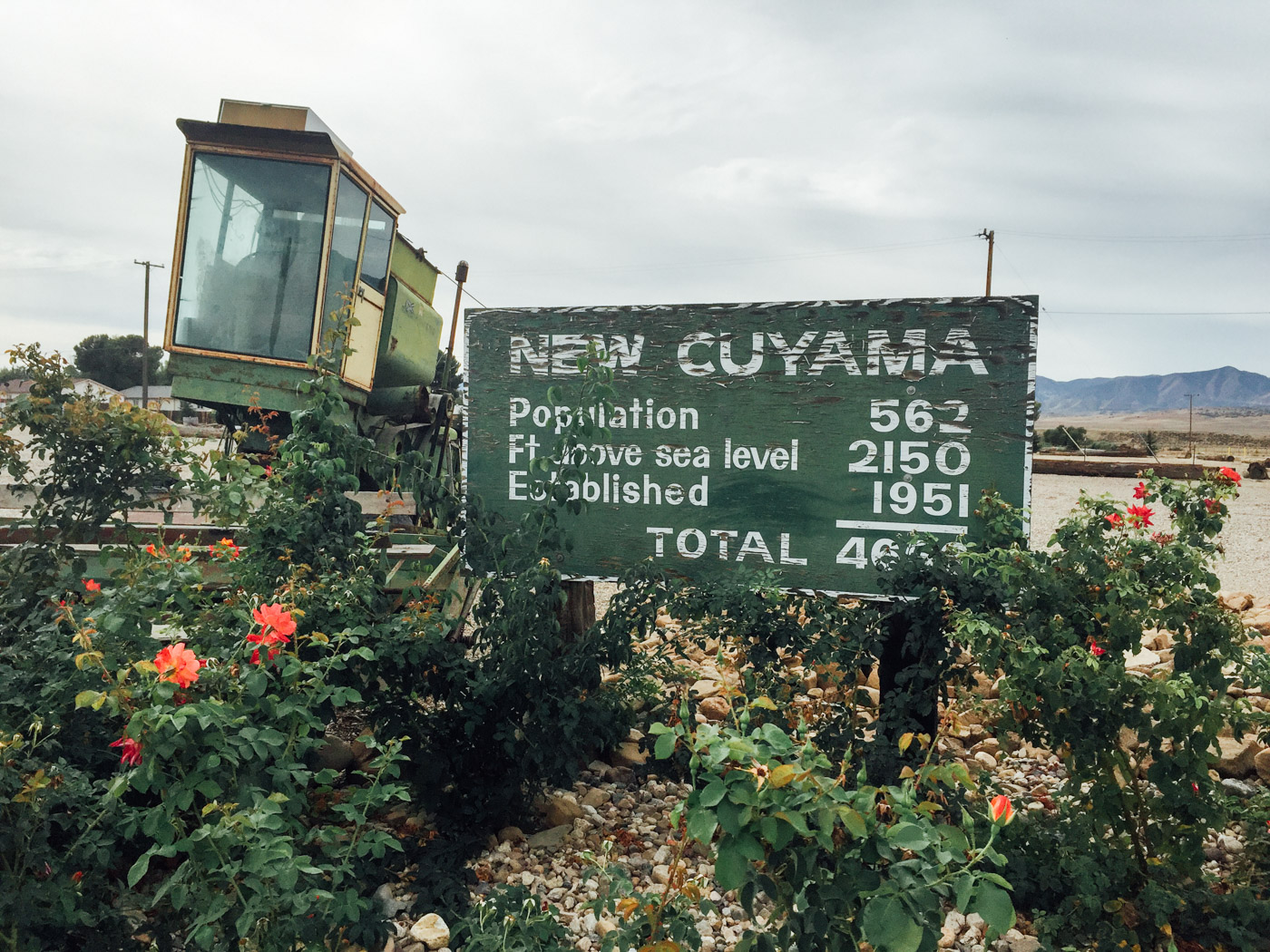 Welcome to New Cuyama - Let's Photo Trip Highway 33