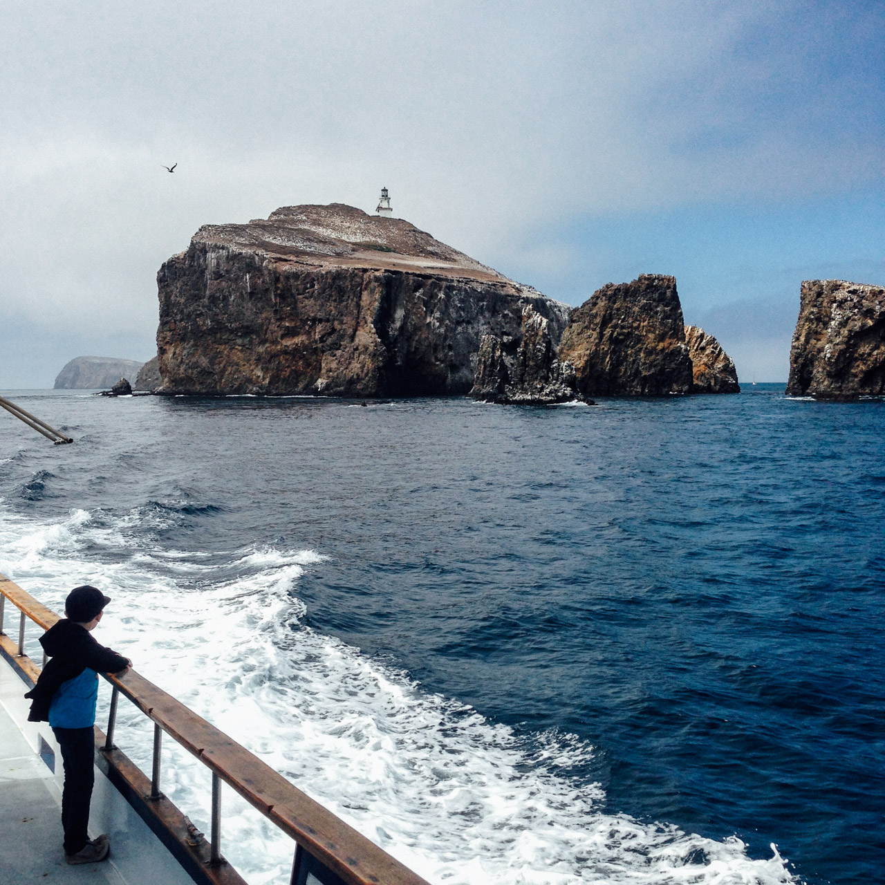Approaching Anacapa Island from the south. Let's Photo Trip!