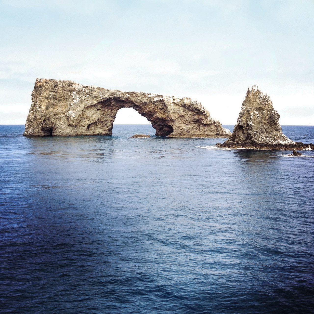 Arch Rock at the southern tip of Anacapa Island. Let's Photo Trip