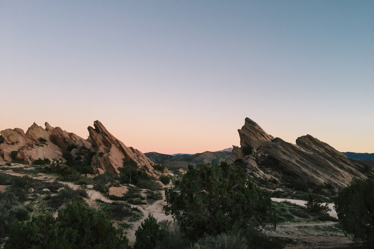 Vasquez Rocks, California - Photo by Steve Wilson